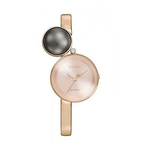 Citizen EW5493-85X Women's Stainless Steel Rose Gold Bracelet Band Rose Gold Dial Smart Watch - 31EsNvXbgQL - Citizen EW5493-85X Women's Stainless Steel Rose Gold Bracelet Band Rose Gold Dial Smart Watch