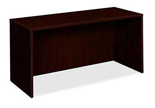 (HON BL Laminate Series Credenza Shell - Desk Shell for Office,  72w x 24d x 29h, Mahogany (HBL2121))