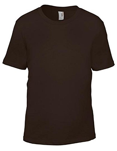 Anvil Youth Lightweight T-Shirt - Chocolate - XL