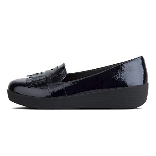 Femme Fitflop Navy Fringey 399 midnight Blue Mocassins Sneakerloafer Sr1Wqrt