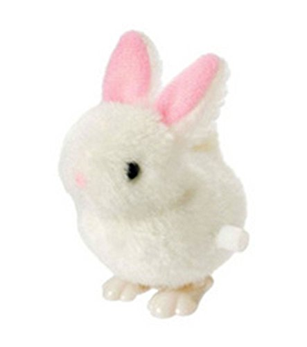 Toysmith Fuzzy Bunny Wind Toy