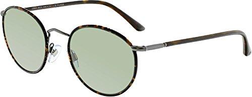 Giorgio Armani Sunglasses (AR6016) Gunmetal Matte/Green Metal - Polarized - - Giorgio Armani Sunglasses Womens