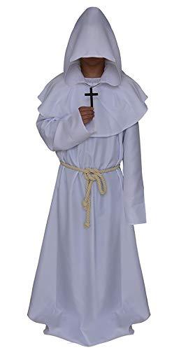 할로윈 코스프레 코스튬 신부 십자가 목사 선교사 목사 그리스도교 석사 호러