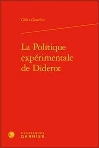 politique expérimentale Diderot