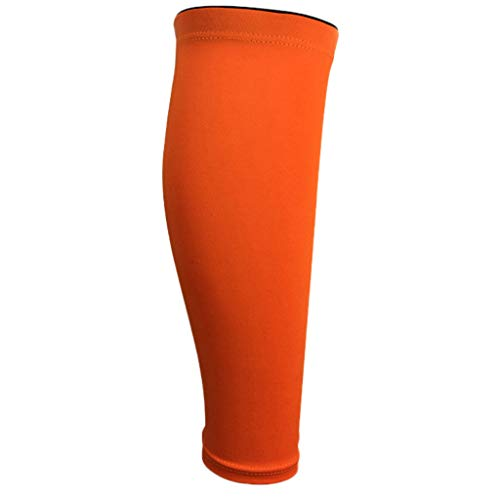 TIFENNY Calf Compression Sleeve Leg Performance Support Shin Splint Sport Running Leggings Calf Sleeve Socks Sets Orange