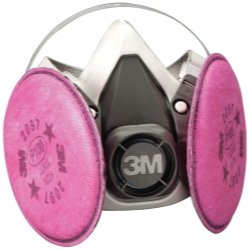 3M 1/2 MASK RESPIRATOR ASSEMBLY MEDIUM - 7182 for WELDING
