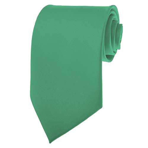 Seafoam Green Necktie SOLID Mens Neck Tie Satin by K. Alexander