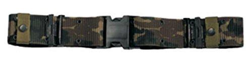 Rothco New Issue Quick Rls Pistol Belt, Camo, Large