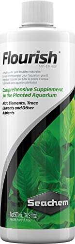 Flourish-Planted Seachem Aquarium Supplement, 16.9-oz Bottle