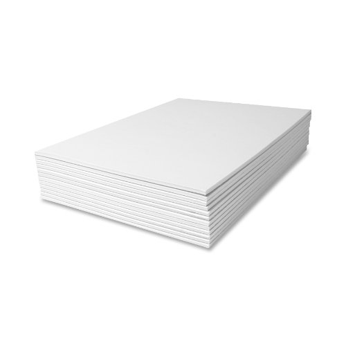 Scratch Pads, Unruled, 8-1/2 x 11, White, Twelve 50-Sheet Pads/pack