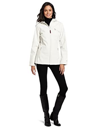 Tommy Hilfiger Women's Roni Jacket with Hood, Cream, Small