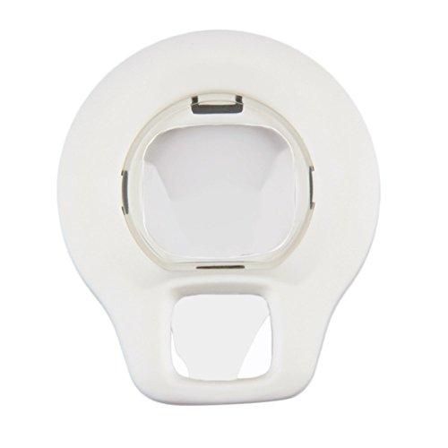CoCocina Lente De Primer Plano Rotary Autorretrato Espejo Para Fuji Instax Mini 8 Cámara-Blanco