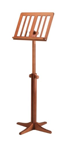 Antique Music Stand - K & M 11617.000.00 Beech Wood Music Stand, 28.15-48.23
