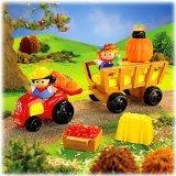Fisher Price Little People Harvest Hayride Playset