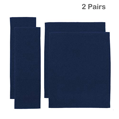 (Counting Mars 2 Set Replacement Cover Canvas for Directors Chair, Navy)