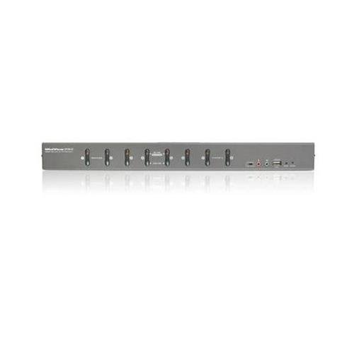 IOGEAR Network GCS1208KIT2 8Port DVI KVMP Switch Kit with VGA Support Retail by IOGEAR