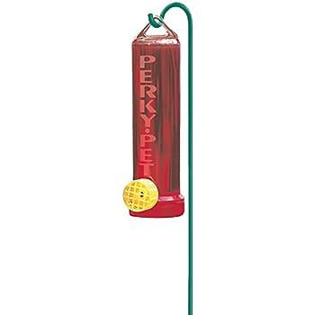 Perky-Pet  215P Planter Box 3-Ounce Plastic Hummingbird Feeder with Hanging Rod