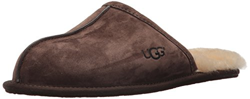 UGG Men's Scuff Slipper, Espresso, 10 US/10 M US (Best Uggs For Narrow Feet)