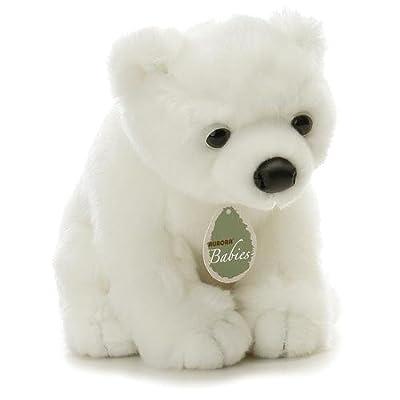 Aurora Plush 12 Baby Slushy Aurora Babies Polar Bear by Aurora