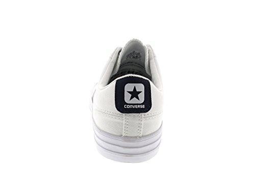 Uomo scarpa sportiva, colore Bianco , marca CONVERSE, modello Uomo Scarpa Sportiva CONVERSE CHUCK TAYLOR STAR PLAYER OX Bianco bianco