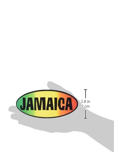 2.5 x 6 Long Lasting STICKER ETIQUETA Decal REGGAE /& RASTA Jamaica Rub-On Frote-On One Love Amor STICKER ETIQUETA Officially Licensed Artwork