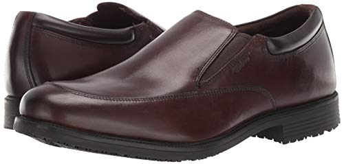 Rockport Men's Lead The Pack Slip On Loafer, Cocoa Brown, 9.5 W US by Rockport (Image #6)