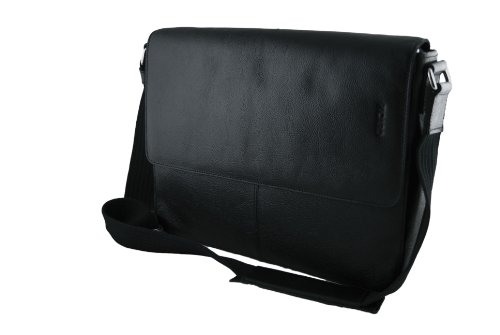 Picard Merry bolso bandolera piel 39cm Black