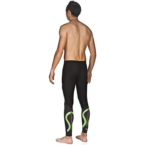 Arena Powerskin Carbon Compression Long Tights, Black/Deep Grey, X-Small by Arena (Image #2)