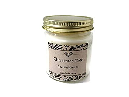 Christmas Cookie Handpoured Highly Scented Candle Tin