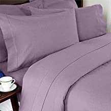 Elegant Comfort 1500 Thread Count Wrinkle and Fade Resistant Egyptian Quality Ultra Soft Luxurious 3-Piece Duvet Cover Set, Full/Queen, Lilac