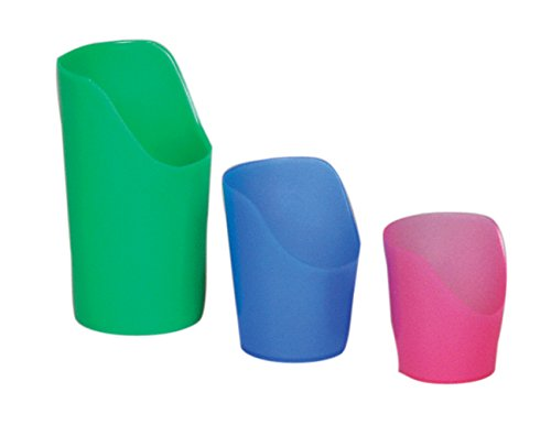 Flexi-Cut Cups, Green, 8 ounce