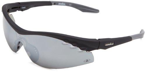Ironman Triumph Semi-Rimless Sunglasses,Matte Black Rubberized,159.5 - Eyewear Ironman