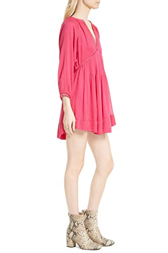 Free People Go Lightly Swing Dress XS Pink