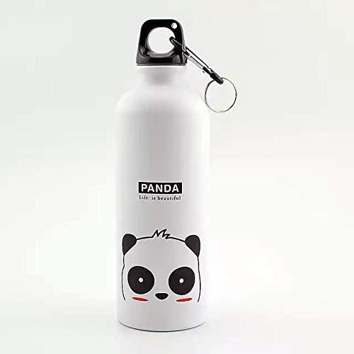 Happy Haystack Eco Friendly Water Bottle Aluminum with Unique Panda Design