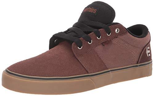 Etnies Men's Barge LS Skate Shoe, Brown/Gum, 8 Medium US