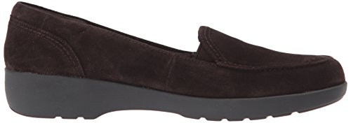 Easy Spirit Damen Karin Slip-On Loafer Dunkelbraun / Dunkelbraun Wildleder