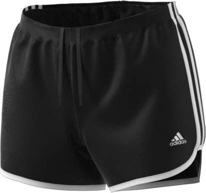 adidas Women's Marathon 20 Short, XL3, Black/White adidas performance -hardgoods/accessories - Child Code S19080641