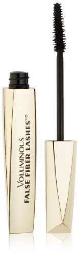 L'Oréal Paris Voluminous False Fiber Lashes Mascara, Blackest Black, 0.34 fl. oz.