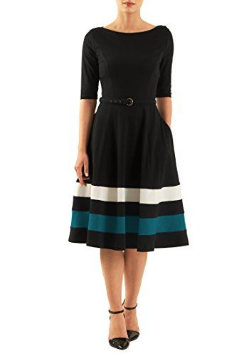 Buy belted cotton dress - 7