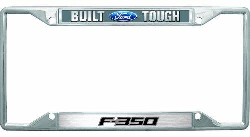 Chrysler Built Ford Tough F-350 License Plate Frame 2009-up