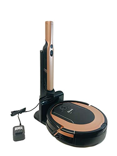 Shark ION Robot Vacuum Cleaning System S86 with Wi-Fi Designed for Pet Hair RV852WVQRG Rose Gold (Renewed)