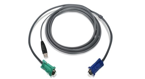 IOGEAR USB KVM Cable, 10 Feet, G2L5203U