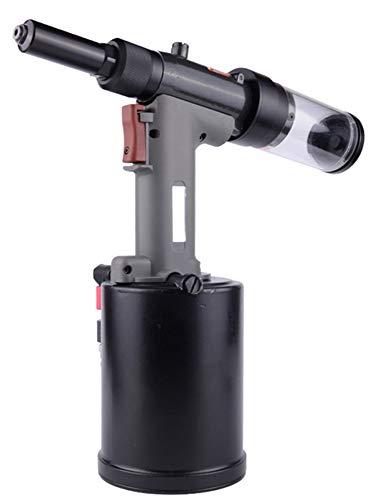 NEWTRY 6.4MM Industrial Rivet Gun with Anechoic Vent Pneumatic Adjustable Riveter Pistol Type Riveting Tool 2 - Riveter Pistol