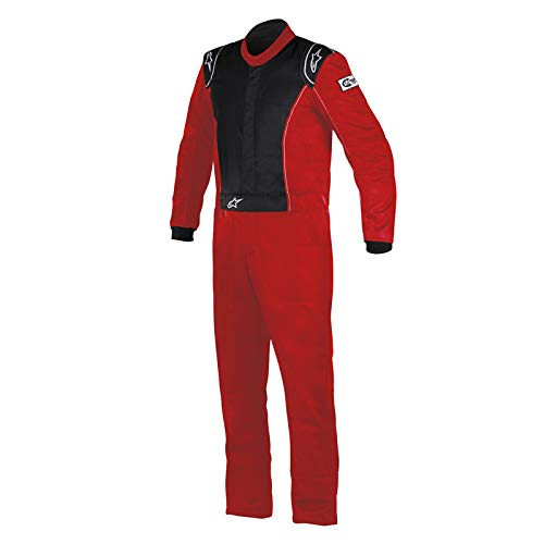 Alpinestars KNOXVILLE Suit (Red/Black, Size 66)