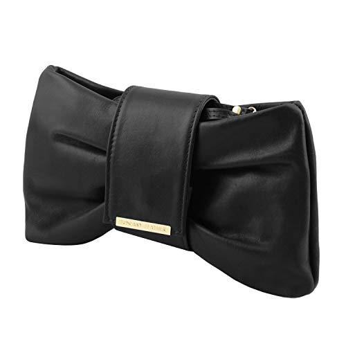 Main Noir Tuscany Leather À Femme Sac Priscilla Pour vPI6Fq7P