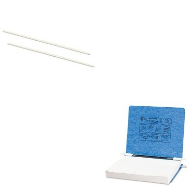 kitacc50104acc54122 – Valueキット – Acco厚紙Hangingデータバインダー( acc54122 )とAccoデータフレックス8 – 1 / 2ナイロン上/下を投稿ロードバインダー( acc50104 )   B00MOP69Y0