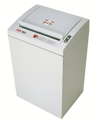 HSM Classic 411.2L6, 14-16 Sheet, Cross-Cut, 38.5-Gallon Capacity Shredder