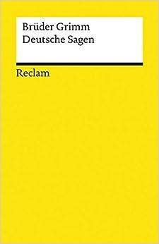 Book Deutsche Sagen.