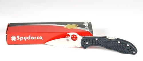 Spyderco(スパイダルコ) デリカ4 ウェーブ 直刃 C11PGYW   B00165X4K6