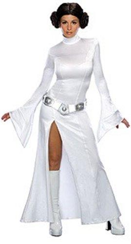 Secret Wishes Womens Sexy Princess Leia Costume White M (68)